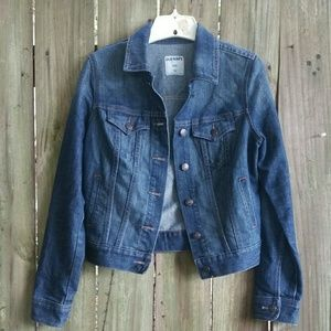Old Navy Jackets & Coats - Old Navy Cropped Denim Jean Jacket